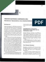Caz 1 Precision Electronics Corporation