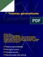 Tetanus Generalisata