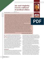 "Dr Khoo Lee Seng & Dr Vasco Senna-Fernandes ""Hymenoplasty and Revirgination- An Issue of Sociocultural Morality and Medical Ethics"