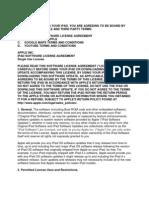 iPad Software License Agreement
