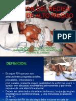 Atencion Del RN Alto Riesgo Factores Upla 2010