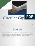 Circular Gips