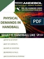 01 - Physical Demands in Handball - Mario Tomljanovic