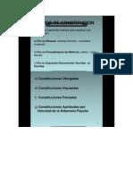 1 TIPOS de CONSTITUCION Existen Los Siguientes Criterios Para Clasificar Una Constitución