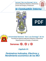 Cap.vi_parámetros Indicados, Efectivos y Rendimiento Económico de Los MCIA