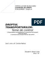 Dreptul-transporturilor