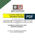 Ley de La Universidad Autonoma de La Ciudad de Mexico (1)