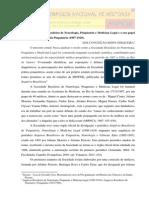 A Sociedade Brasileira de Neurologia, Psiquiatria e Medicina Legal e Institucionalização Da Psiquiatria