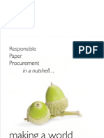 Responsible Paper Procurement -  in a Nutshell...