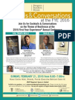 Random House FYE® Cocktail Reception Invite 2016