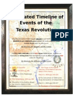 texas revolution illustrated timeline assignment