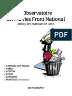 Observatoire Bilan Paca FN 2015