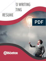 Secrets to writing a captivating resume
