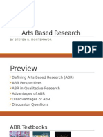 arts based research  2