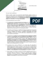 Carta de organizaciones contra carretera que afectaría área protegida e indígenas aislados
