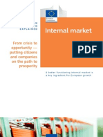 Internal Market - EU Policy