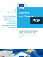 Banking and Finance - EU Policy