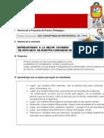 PROPUESTA PEDAGOGICA DE COMUNICACION