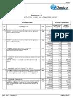 Model Lista Deviz f3 Lista Cantitati