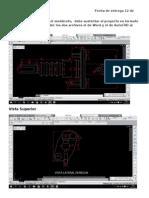 Proyecto de  Autocad (medidas) UIDE
