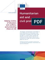 Humanitarian Aid and Civil Protection - EU Policy