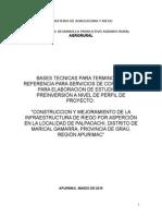 1. TDR PERFIL SNIP.doc