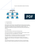 Solución Unidad Didáctica Redes Informáticas