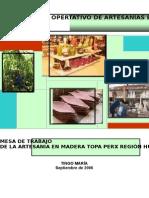 plan de negocio en madera topa