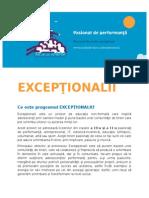 Exceptionalii-prezentare proiect