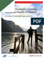 Winning Strategies in Global Workplace Health Promotion
