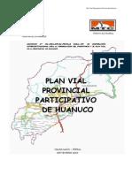 Planes Viales Huanuco Huanuco