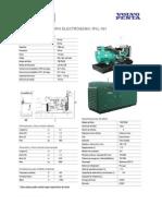 Generador de 165 Kw - RVL181