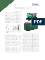 Generador de 280 KW - RVL303