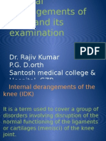 Internal Derangement of Knee -2