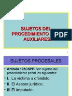 3.-Sujetos Procesales Cnpp..