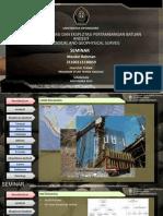 Metode Eksplorasi Dan Eksplotasi Pertambangan Batuan Andesit (Geological and Geophysical Survei) Fix