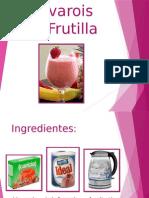 Bavarois de frutilla