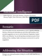 emotional intelligence group project