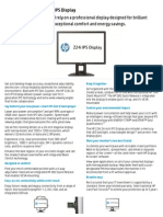 1 Hp z Display z24i Datasheet