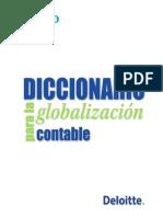 Diccionario Para La Globalizacion Contable