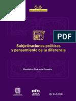 Subjetivaciones Políticas y Pensamiento de La Diferencia