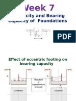 Wk7 Raft foundations + Eccentricity