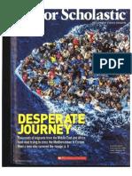 desperate migrant journey
