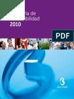 Belcorp - Memoria de Sostenibilidad 2011