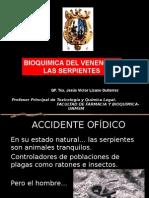 14 Clase - Bioquimica Del Veneno de Las Serpientes 2014