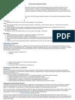 tech integration matrix 1   1