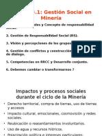 Gestión Social en Minería