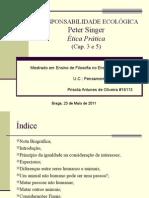 A Presentação Peter Singer