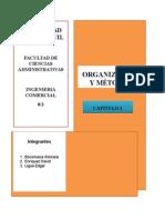 La Organización y Métodos Se Aplican