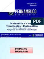 ProfessorAutor-Matemática-Matemática  Ι  7º ano  Ι  Fundamental-Polígonos elementos e classificação.ppt
